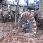 Triple disc of machine for agriculture