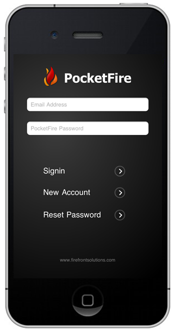 PocketFire App screenshot
