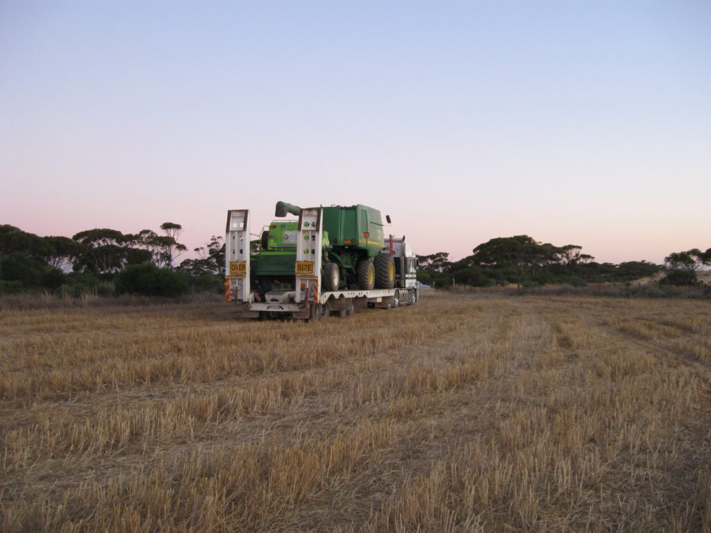 harvest weed seed control