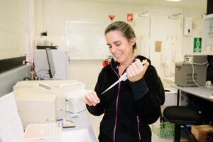 AHRI researcher, Dr Danica Goggin